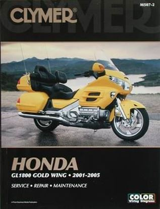 Immagine di HONDA GL1800 GOLD WING 2001-2005 CLYMER REPAIR MANUALS M507-2