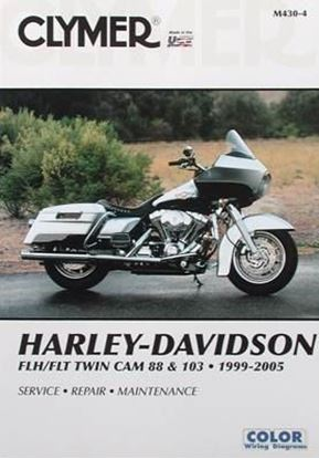 Picture of HARLEY-DAVIDSON FLH/FLT TWIN CAM 88 & 103 1999-2005 CLYMER REPAIR MANUAL M430-4