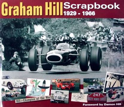 Picture of GRAHAM HILL SCRAPBOOK 1929-1966