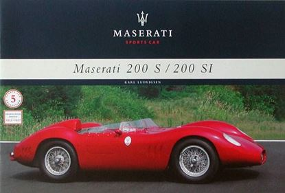 Picture of MASERATI 200S-200SI SPORTS CAR 1955-1957 - MONOGRAFIA N.5