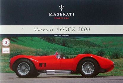 Picture of MASERATI A6GCS 2000 SPORTS CAR 1953-1955 - MONOGRAFIA N.3