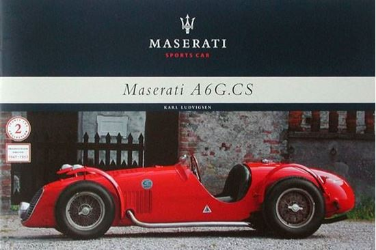 Picture of MASERATI A6G.CS SPORTS CAR 1947-1953 - MONOGRAFIA N.2