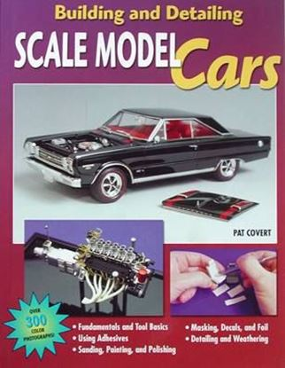 Picture of BUILDING AND DETAILING SCALE MODEL CARS