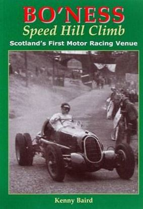 Picture of BO'NESS SPEED HILL CLIMB: SCOTLAND'S FIRST MOTOR RACING VENUE