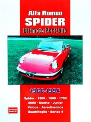 "Immagine di ALFA ROMEO SPIDER ULTIMATE PORTFOLIO 1966-1994. Serie ""Brooklands Books"""