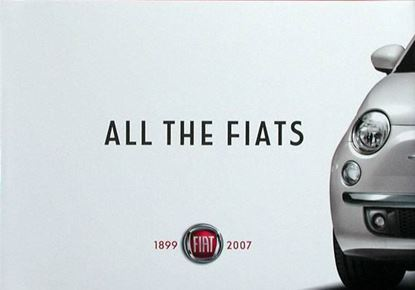 Picture of ALL THE FIATS 1899-2007