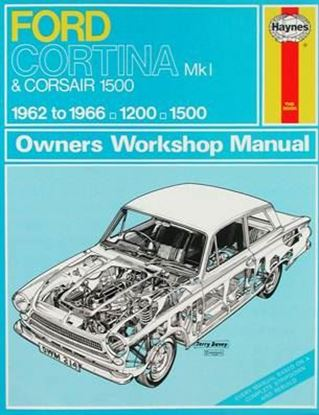 Immagine di FORD CORTINA Mk l & CORSAIR 1500 – 1962 to 1966 OWNERS WORKSHOP MANUAL N. 214