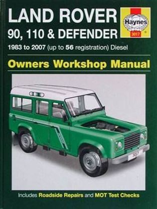 Immagine di LAND ROVER 90, 110 & DEFENDER 1983 to 2007 DIESEL OWNERS WORKSHOP MANUAL N. 3017