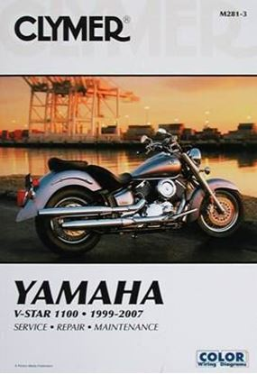 Picture of YAMAHA V-STAR 1100 1999-2007 CLYMER REPAIR MANUALS M281-3