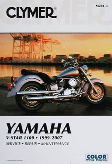 Immagine di YAMAHA V-STAR 1100 1999-2007 CLYMER REPAIR MANUALS M281-3