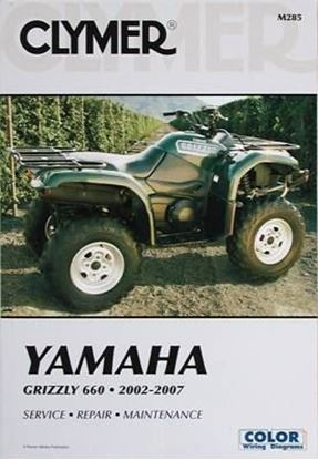 Picture of YAMAHA GRIZZLY 660 2002-2007 CLYMER REPAIR MANUALS M285