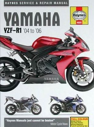Immagine di YAMAHA YZF-R1 2004 to 2006 SERVICE AND REPAIR MANUAL N. 4605