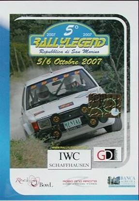 Picture of 5° RALLYLEGEND 5-6 OTTOBRE 2007 (Dvd)