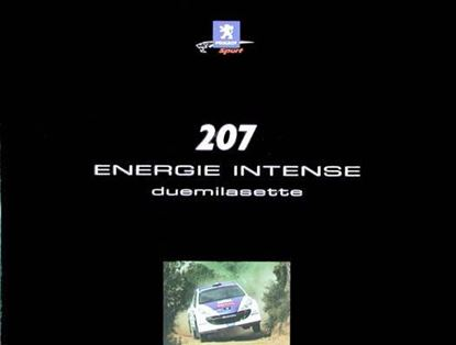 Picture of PEUGEOT 207 ENERGIE INTENSE DUEMILASETTE
