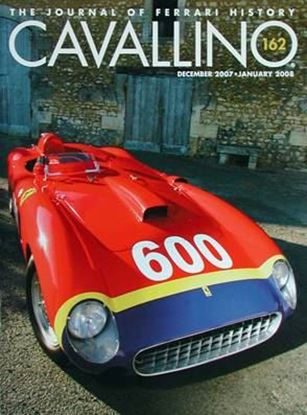 Immagine di CAVALLINO THE JOURNAL OF FERRARI HISTORY N° 162 DECEMBER 2007/JANUARY 2008