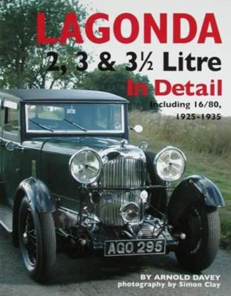 Immagine di LAGONDA 2, 3 & 3 1/2 LITRE IN DETAIL INCLUDING 16/80 1925-1935