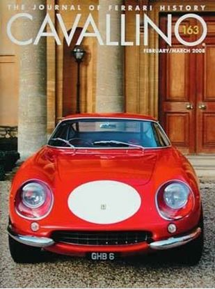 Immagine di CAVALLINO THE JOURNAL OF FERRARI HISTORY N° 163 FEBRUARY/MARCH 2008