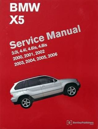 Immagine di BMW X5 SERVICE MANUAL 3.0I 4.4I 4.6IS 4.8IS 2000-2006