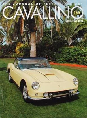 Immagine di CAVALLINO THE JOURNAL OF FERRARI HISTORY N° 165 JUNE/JULY 2008