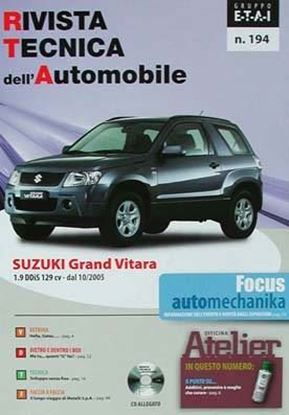 "Picture of SUZUKI GRAND VITARA SERIE ""RIVISTA TECNICA DELL'AUTOMOBILE"" N.194"
