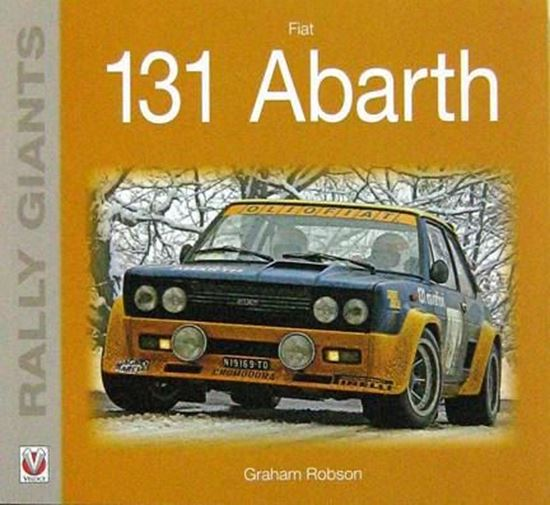 Immagine di FIAT 131 ABARTH - RALLY GIANTS Ristampa 2017