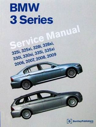 Picture of BMW 3 SERIES SERVICE MANUAL 2006-2009