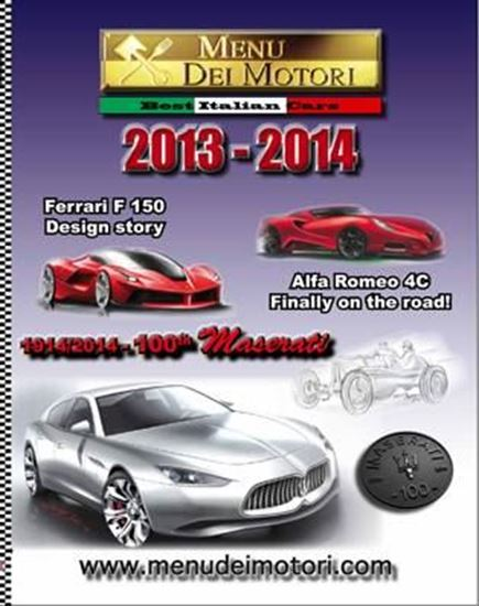 Picture of MENU DEI MOTORI 2013-2014: 100th MASERATI