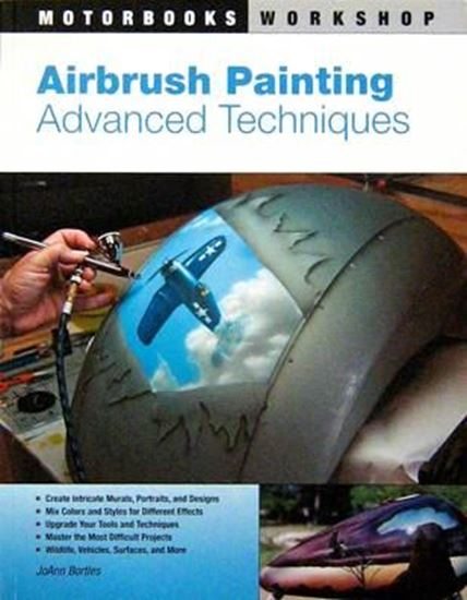 Picture of AIRBRUSH PAINTING ADVANCED TECHNIQUES