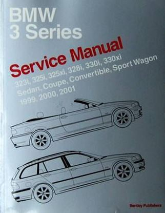 Immagine di BMW 3 SERIES SERVICE MANUAL 1999-2001