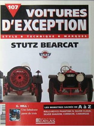 "Immagine di STUTZ BEARCAT STYLE TECHNIQUE MARQUES - Serie ""Voitures d'exception"""