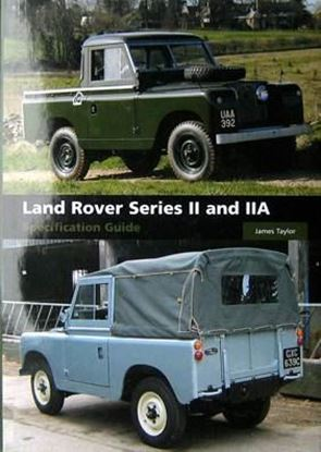 Picture of LAND ROVER SERIES II AND IIA SPECIFICATION GUIDE