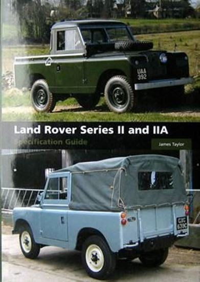 Immagine di LAND ROVER SERIES II AND IIA SPECIFICATION GUIDE