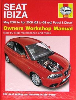 Picture of SEAT IBIZA MAY 2002 TO APR 2008 PETROLO & DIESEL OWNERS WORKSHOP MANUAL N. 4889