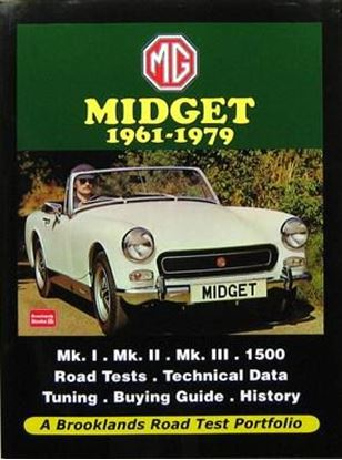 Picture of MG MIDGET 1961-1979 ROAD TEST PORTFOLIO