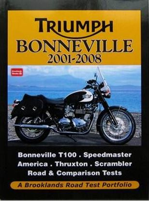 Picture of TRIUMPH BONNEVILLE 2001-2008 ROAD TEST PORTFOLIO