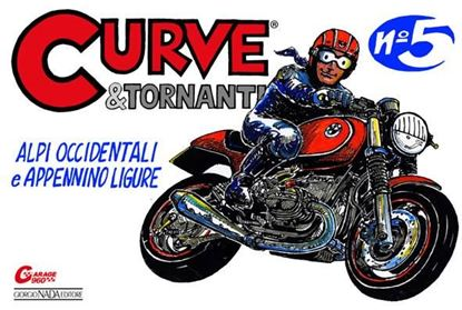 Picture of CURVE & TORNANTI N. 5: ALPI OCCIDENTALI E APPENNINO LIGURE