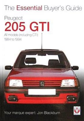 Immagine di PEUGEOT 205 GTI 1984-1994 THE ESSENTIAL BUYER'S GUIDE