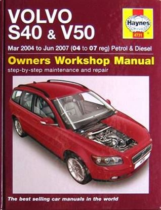 Immagine di VOLVO S40 & V50 MAR 2004 TO JUN 2007 (04 to 07 reg) PETROL & DIESEL OWNERS WORKSHOP MANUALS N. 4731