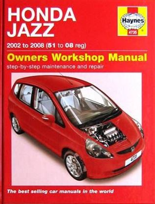 Picture of HONDA JAZZ 2002 TO 2008 (51 to 08 reg) OWNERS WORKSHOP MANUALS N. 4735