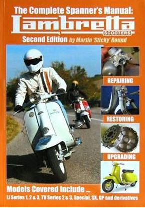 Picture of THE COMPLETE SPANNER'S MANUAL: LAMBRETTA SCOOTERS - 2° edition