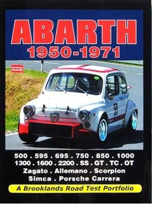 Immagine di ABARTH 1950-1971 A BROOKLANDS ROAD TEST PORTFOLIO