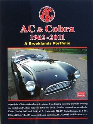 Picture of AC & COBRA 1962-2011: A BROOKLANDS PORTFOLIO