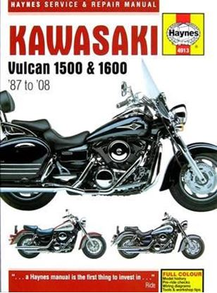 Immagine di KAWASAKI VULCAN 1500 & 1600 1987 TO 2008 SERVICE AND REPAIR MANUAL N. 4913