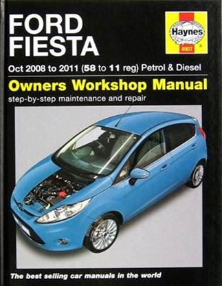 Picture of FORD FIESTA OCT 2008 TO 2011 (58 to 11 reg) PETROL & DIESEL OWNERS WORKSHOP MANUALS N. 4907