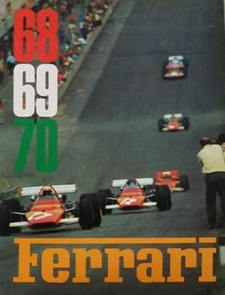 Immagine di FERRARI ANNUARIO/OFFICIAL YEARBOOK 1968/69/70