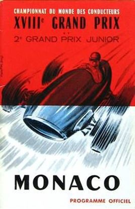 Immagine di 18e GRAND PRIX AUTOMOBILE DE MONACO 1960 PROGRAMME OFFICIEL