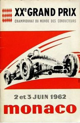 Immagine di 20e GRAND PRIX AUTOMOBILE DE MONACO 1962 PROGRAMME OFFICIEL