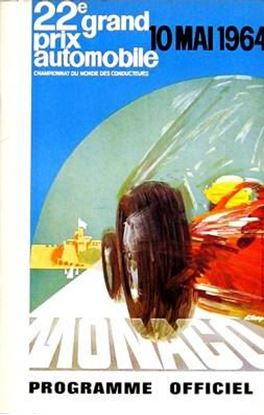 Immagine di 22e GRAND PRIX AUTOMOBILE DE MONACO 1964 PROGRAMME OFFICIEL