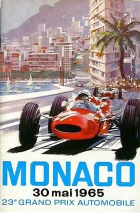 Immagine di 23e GRAND PRIX AUTOMOBILE DE MONACO 1965 PROGRAMME OFFICIEL