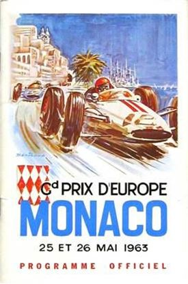 Immagine di 21e GRAND PRIX AUTOMOBILE DE MONACO 1963 PROGRAMME OFFICIEL